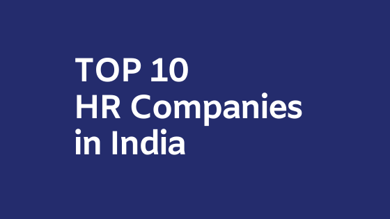 hr companies in india